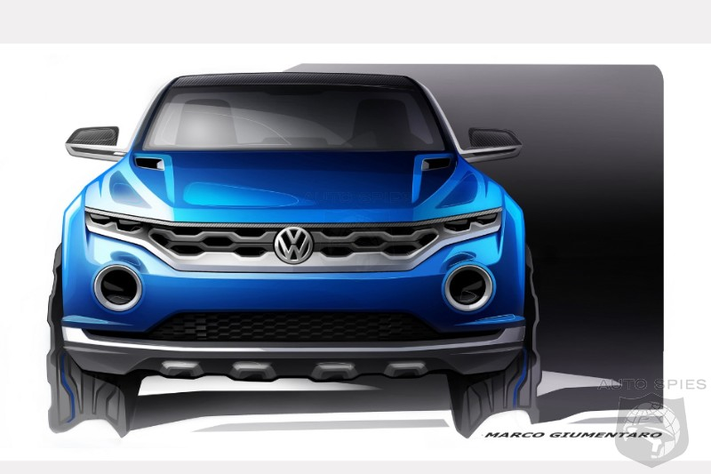 GENEVA MOTOR SHOW: Volkswagen Brings Out An All New, Off Road Concept Called The TROC